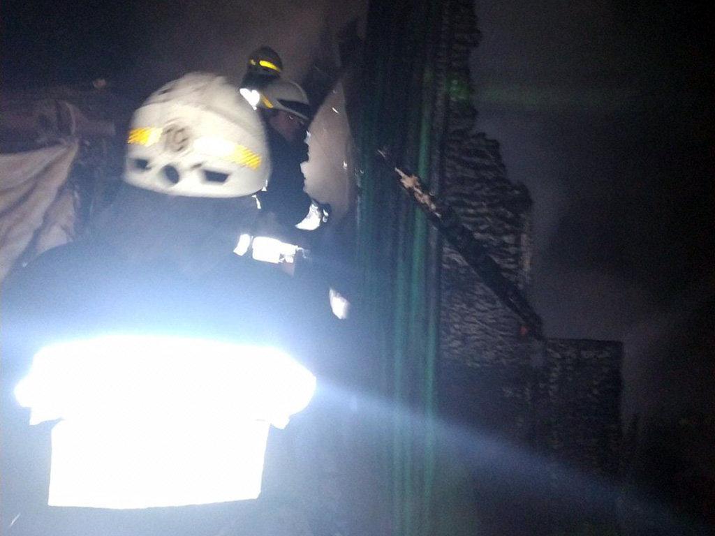 Во время пожара сегодня ночью в Днепре погиб мужчина, - ФОТО, фото-1