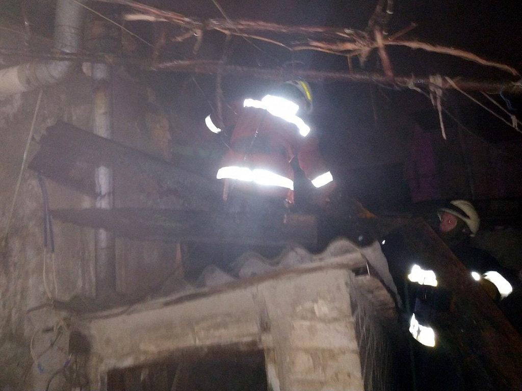 Во время пожара сегодня ночью в Днепре погиб мужчина, - ФОТО, фото-4