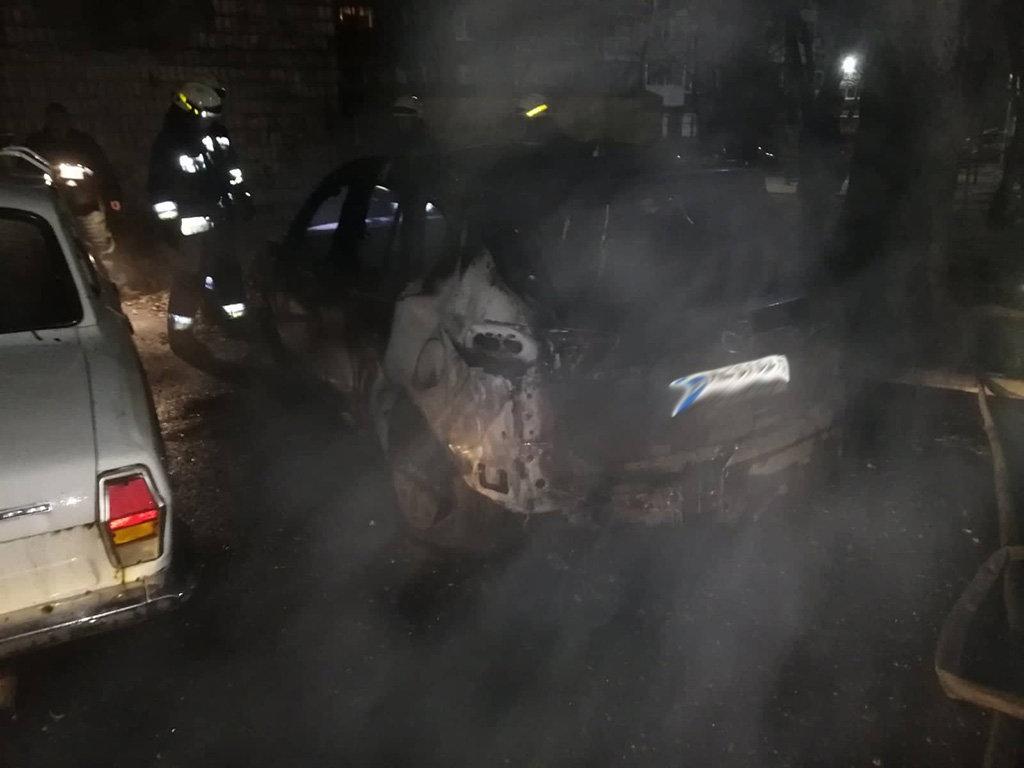 В Днепре ночью на стоянке сгорел легковой автомобиль, - ФОТО, фото-2