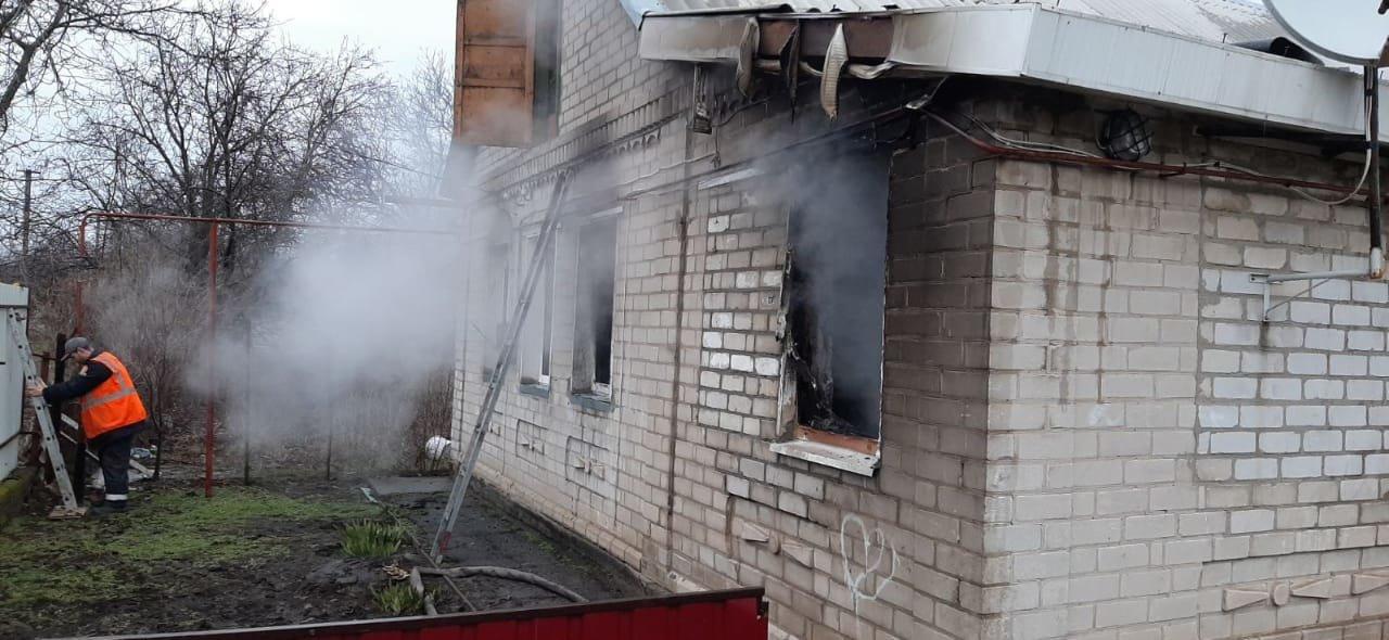В Днепропетровской области в частном секторе горело жилое здание, - ФОТО, фото-3