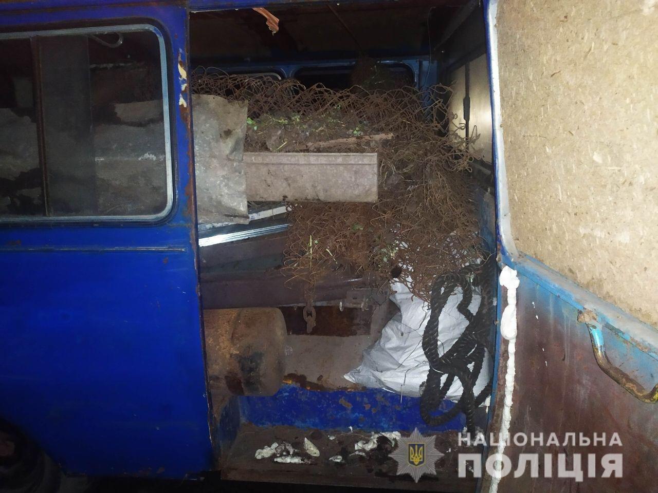 На Днепропетровщине из незаконного пункта приема изъяли более 2 тонн металлолома, - ФОТО, фото-1