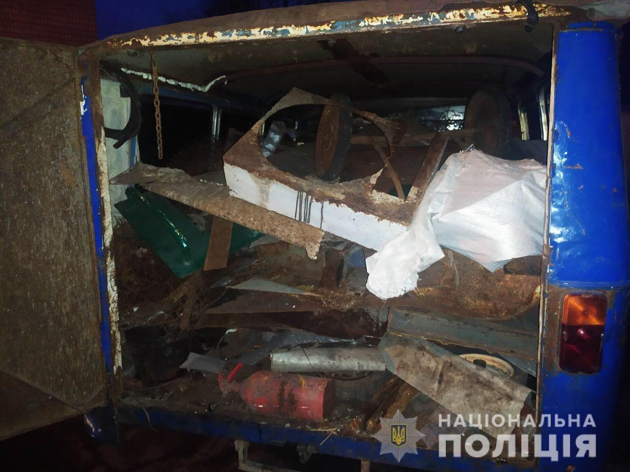 На Днепропетровщине из незаконного пункта приема изъяли более 2 тонн металлолома, - ФОТО, фото-2