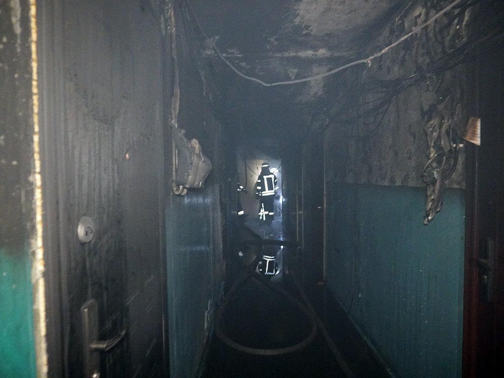 Пожар в общежитии в Днепре: 40 человек спасли, шестеро госпитализированы, - ФОТО, фото-4