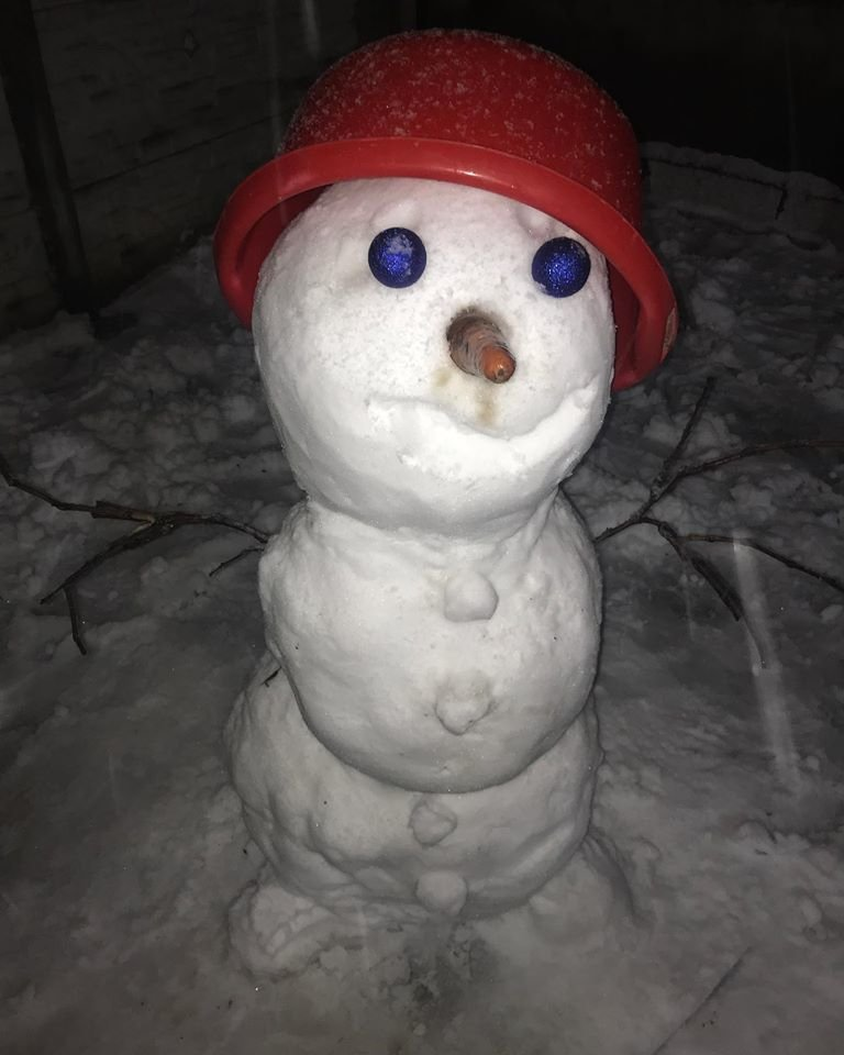 Топ снеговиков Днепра - ФОТО, фото-3