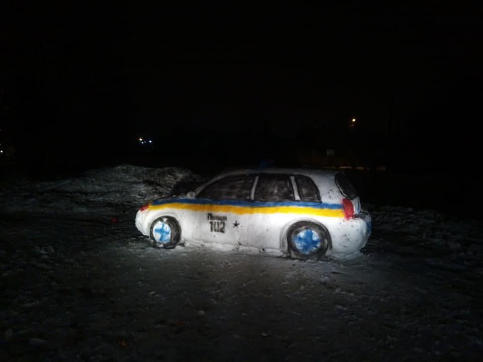 Топ снеговиков Днепра - ФОТО, фото-1
