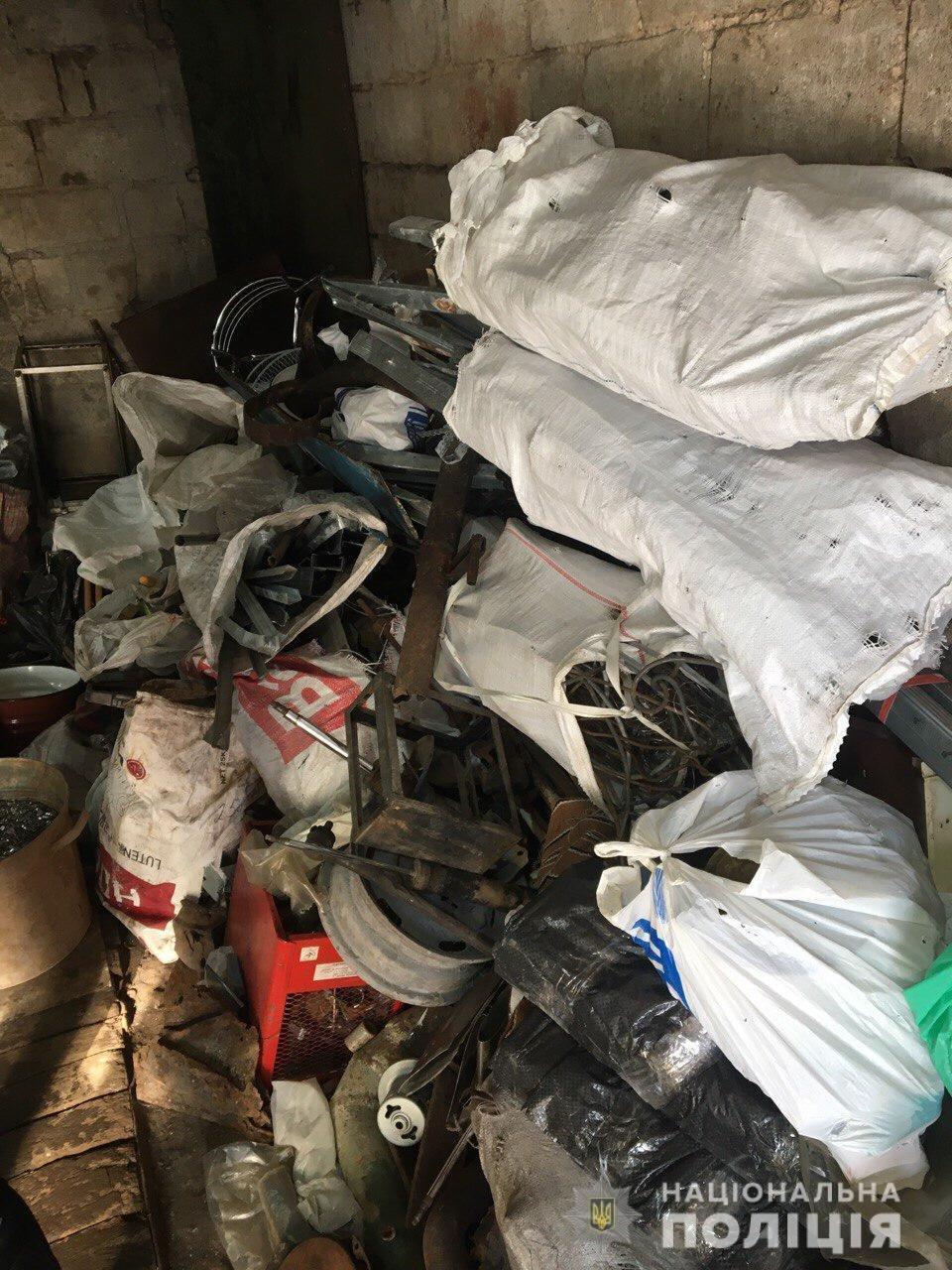 На Днепропетровщине изъяли более трех тонн металлолома, - ФОТО, фото-2