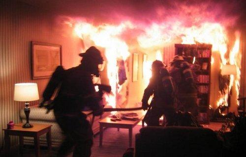 Под Днепром пожарные вывели двух пенсионеров из горящего дома, - ФОТО, фото-1