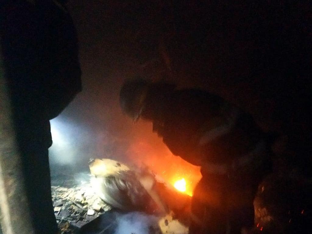 На Днепропетровщине горел цех по изготовлению металлической сетки, - ФОТО, фото-1