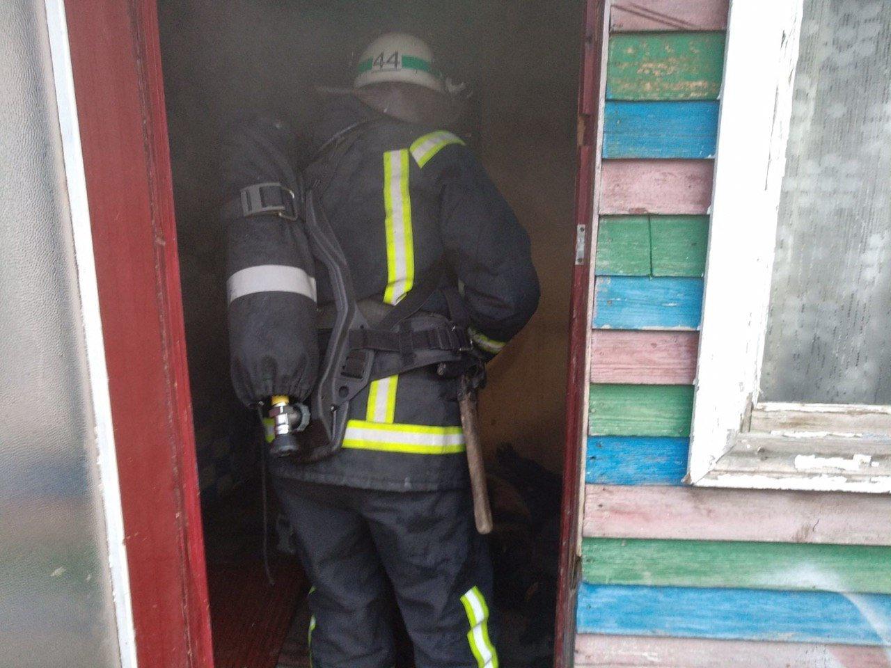 В Днепропетровской области на пожаре в жилом доме погиб мужчина, - ФОТО, ВИДЕО, фото-1