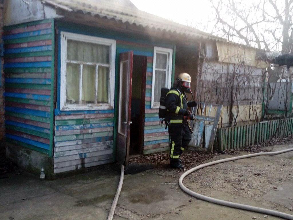 В Днепропетровской области на пожаре в жилом доме погиб мужчина, - ФОТО, ВИДЕО, фото-4
