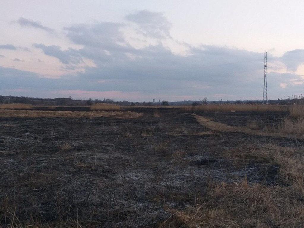 В Днепропетровской области случился пожар на открытой местности, - ФОТО, фото-2