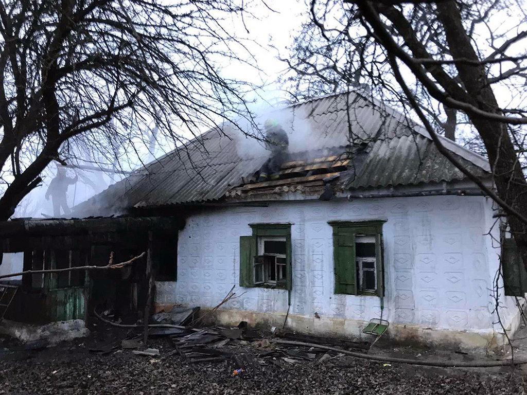 В Днепре рано утром горел жилой дом, - ФОТО, фото-2