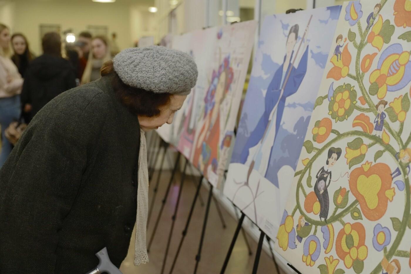 """""""Это сделала она"""": в горсовете Днепра проходит выставка, посвященная выдающимся женщинам Украины, - ФОТО, фото-3"""