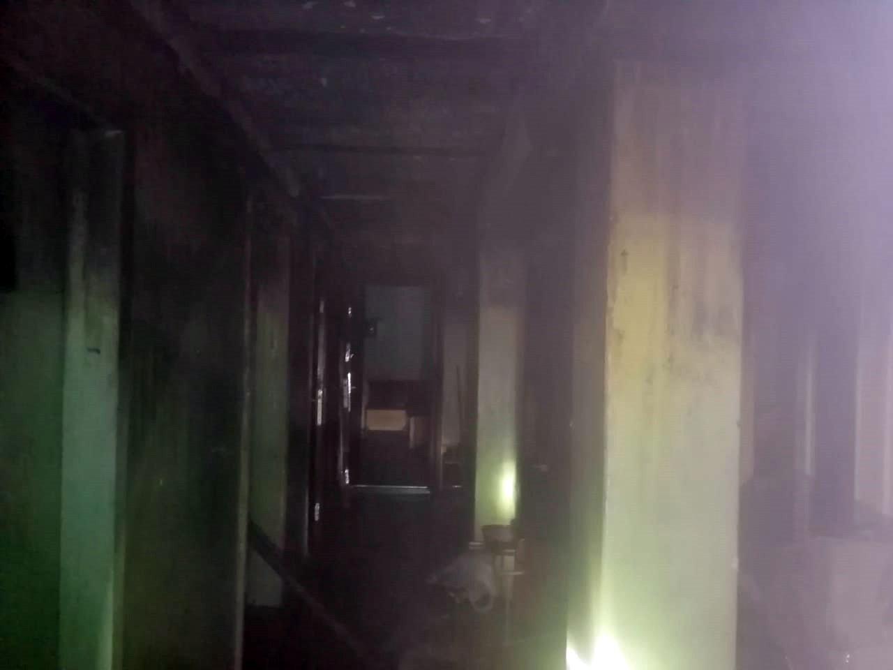 Под Днепром горело общежитие: спасли 10 человек, - ФОТО, фото-2
