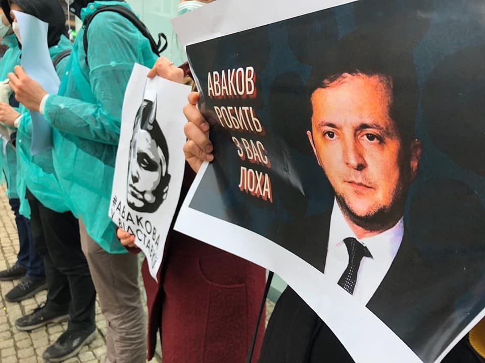 ГЕТЬ аваковірус: в центре Днепра прошла акция против Авакова, - ФОТО, фото-4