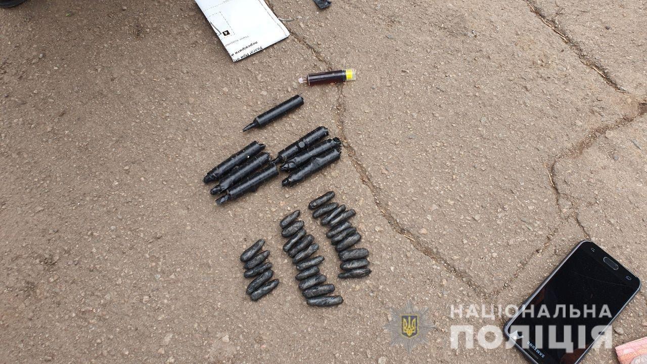 На Днепропетровщине у 20-летнего гражданина изъяли 25 трубочек с метамфетамином, - ФОТО, фото-1