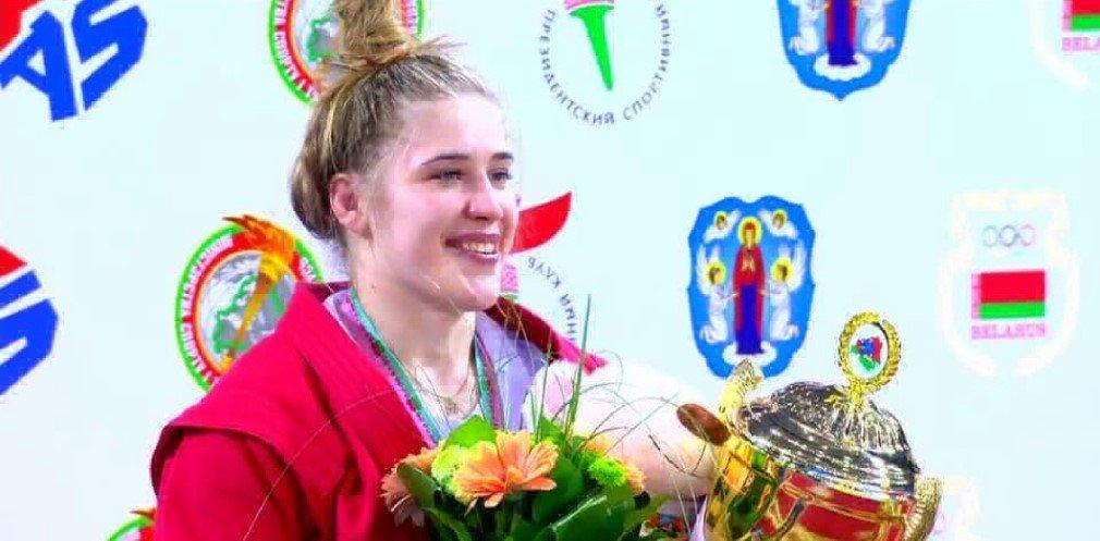Спортсменка из Днепропетровской области завоевала золото на Кубке мира по самбо, фото-1