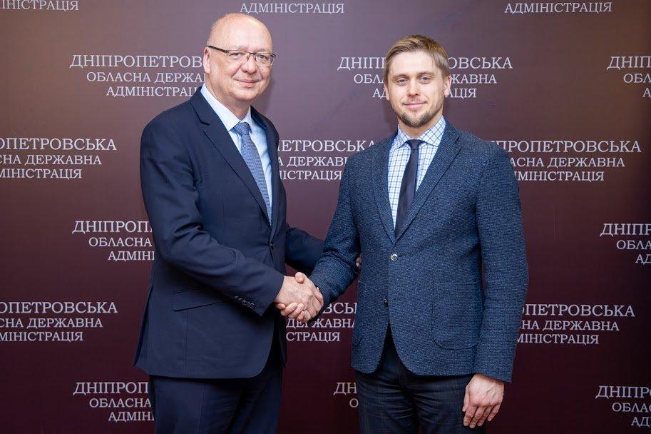 В Днепре состоялась первая встреча главы облгосадминистрации и Чрезвычайного и Полномочного Посла Чешской Республики в Украине, - ФОТО, фото-1