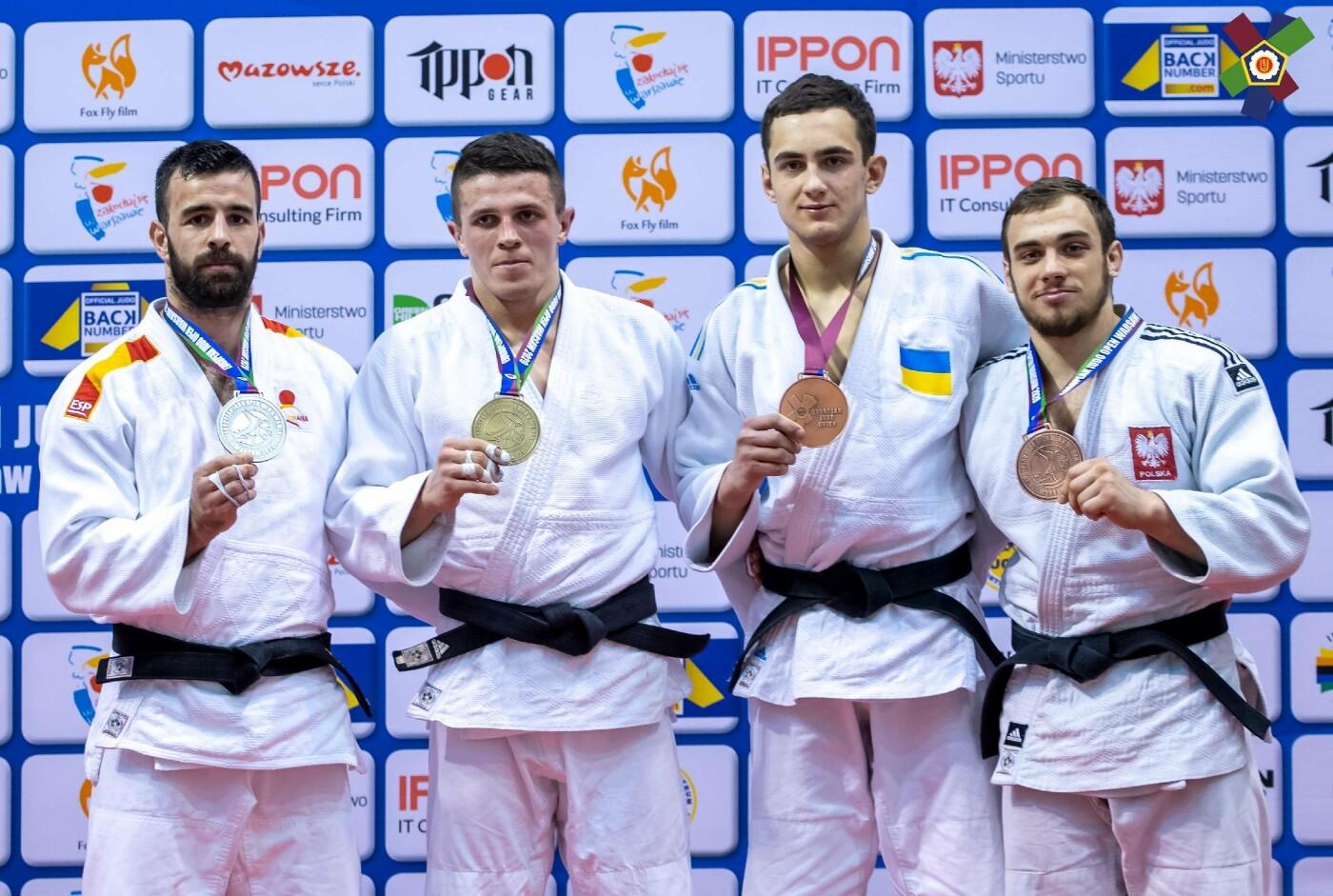 Днепровские дзюдоисты стали призерами Кубка Европы, - ФОТО, фото-1