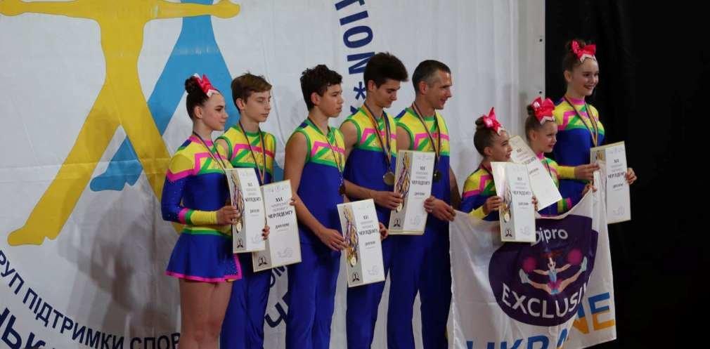 Чирлидеры из Днепропетровщины завоевали 14 медалей на чемпионате Украины, - ФОТО, фото-1