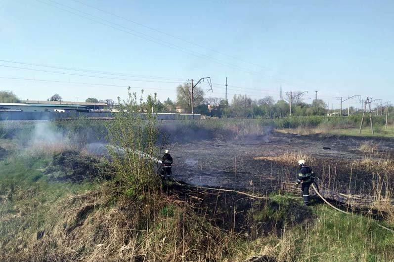 16 пожаров за сутки: спасатели просят жителей Днепропетровщины не сжигать траву, - ФОТО, фото-3