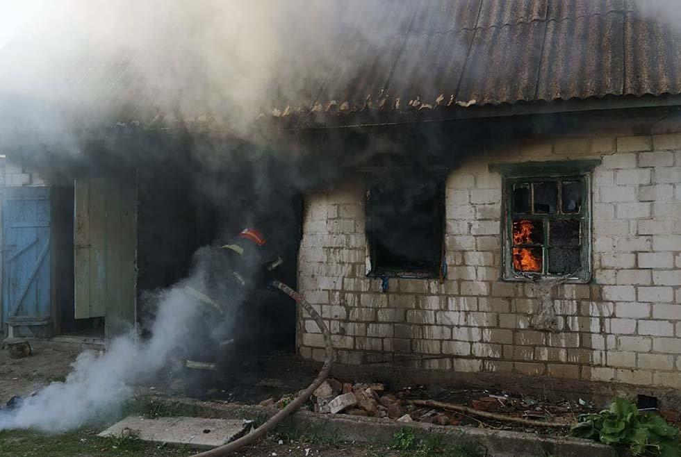 Под Днепром потушили пожар в частном секторе, - ФОТО, фото-2