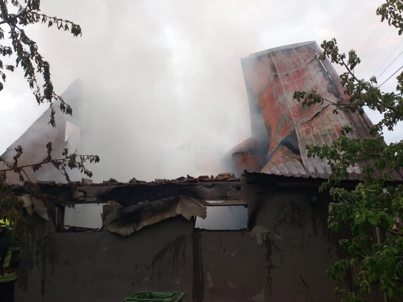 На Днепропетровщине произошел пожар на территории садового общества, - ФОТО, фото-1