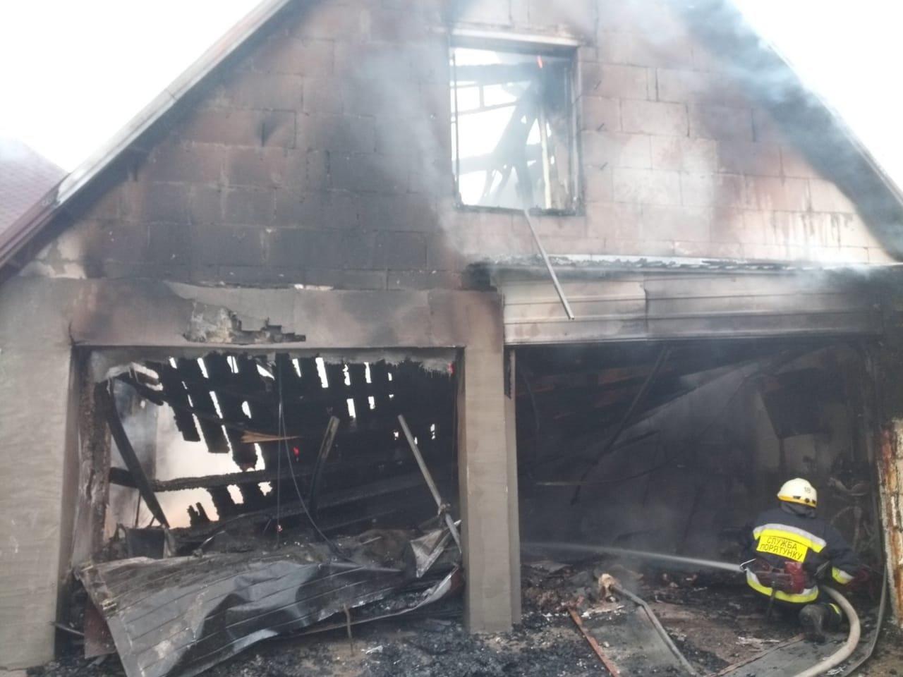 На Днепропетровщине произошел пожар на территории садового общества, - ФОТО, фото-2