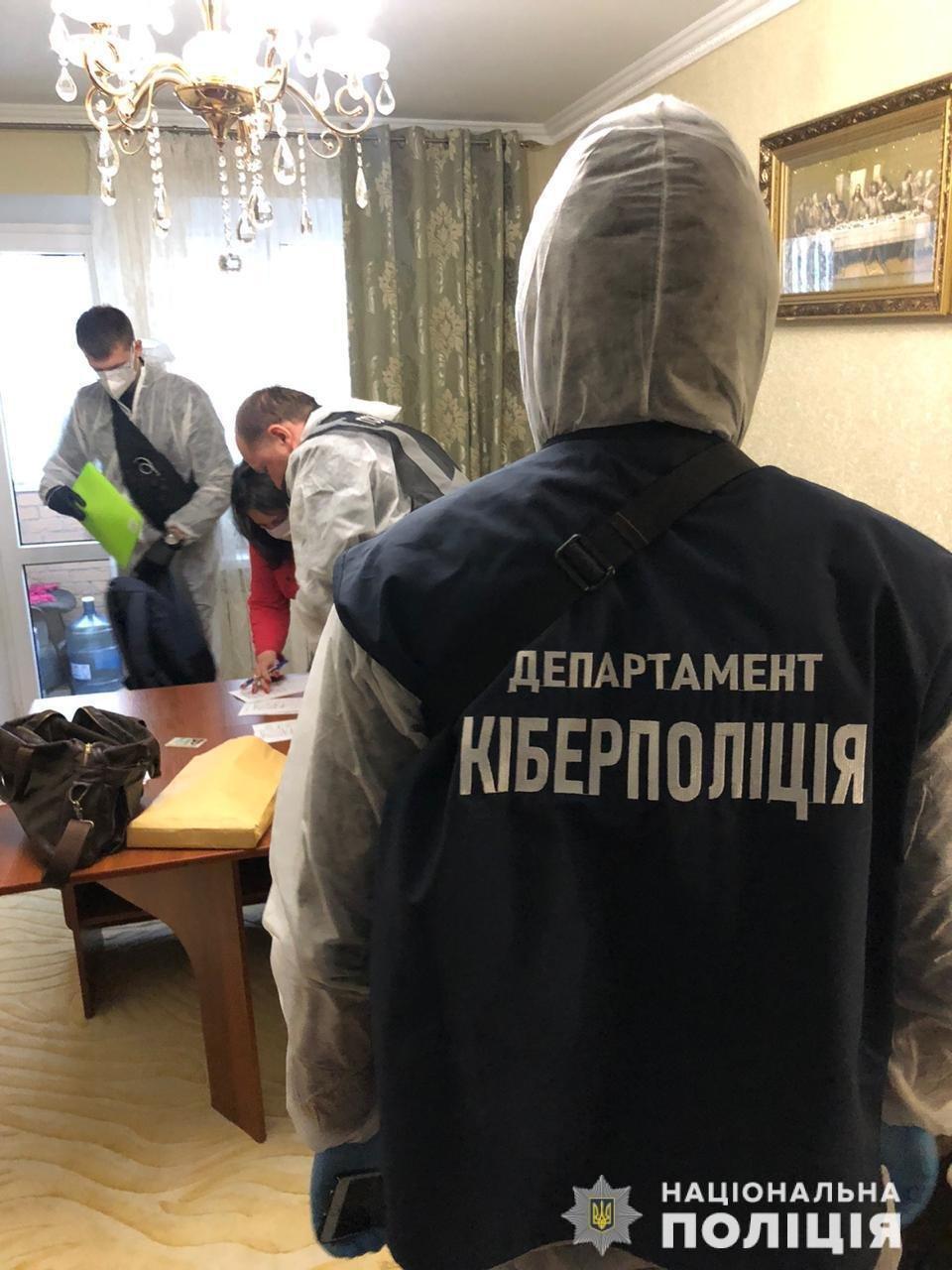 На Днепропетровщине задержали мошенников, которые под видом продажи масок и термометров выманивали деньги, - ФОТО, ВИДЕО, фото-1