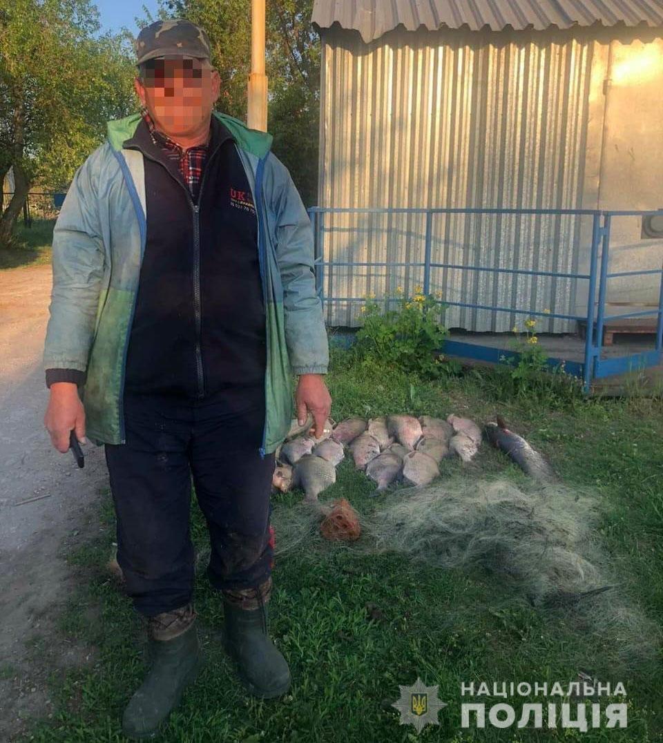 На Днепропетровщине задержали браконьеров, незаконно ловивших рыбу, - ФОТО, фото-2