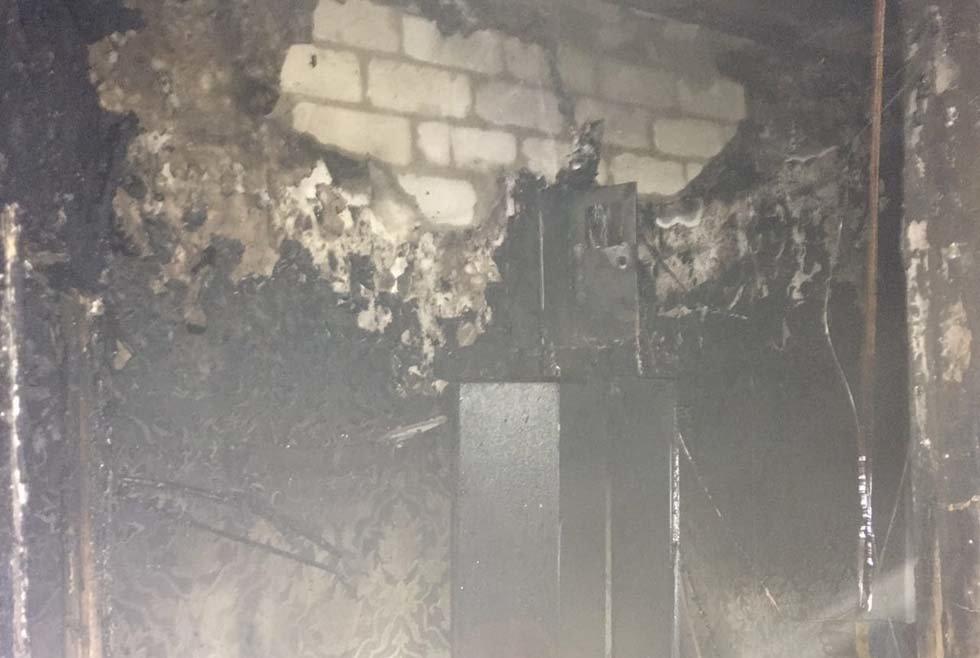 В Днепропетровской области в многоэтажке произошел пожар, - ФОТО, фото-4