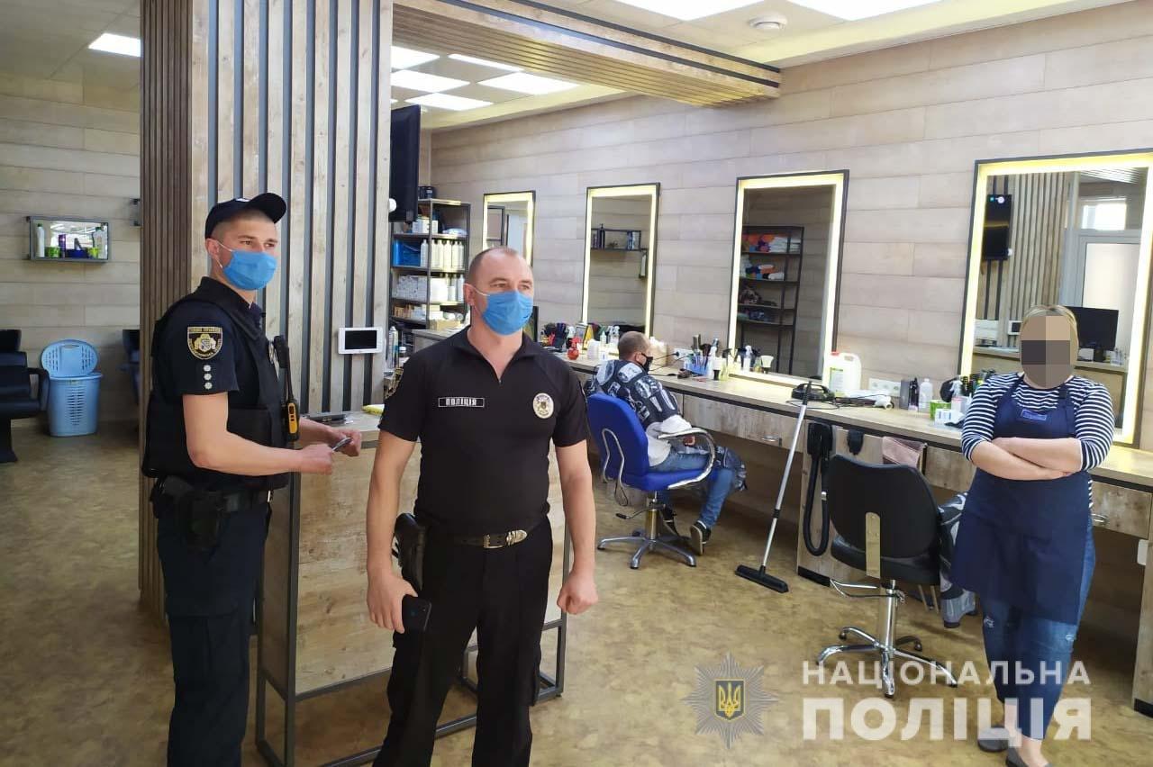 Под Днепром незаконно работали магазины и парикмахерская, нарушая карантин, - ФОТО, фото-2