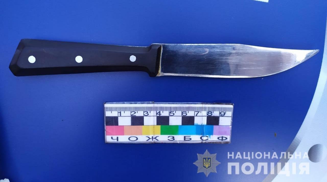 В Днепропетровской области пьяный мужчина на фоне ревности напал с ножом на 22-летнего гражданина, - ФОТО, фото-1