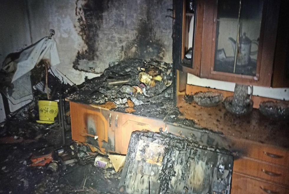 В Днепропетровской области на пожаре в квартире погибла женщина, - ФОТО, фото-1