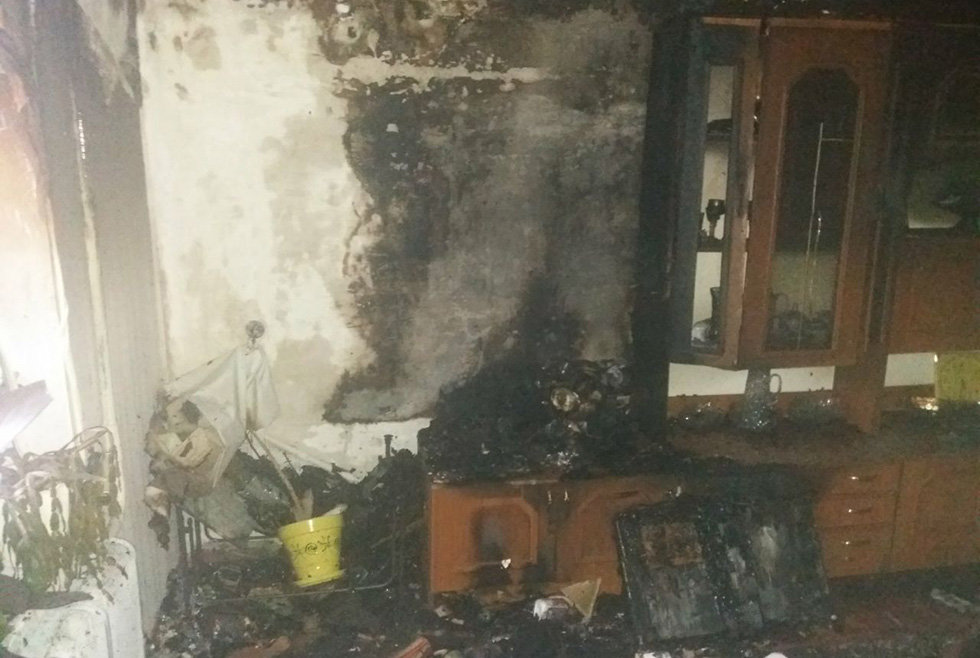 В Днепропетровской области на пожаре в квартире погибла женщина, - ФОТО, фото-2