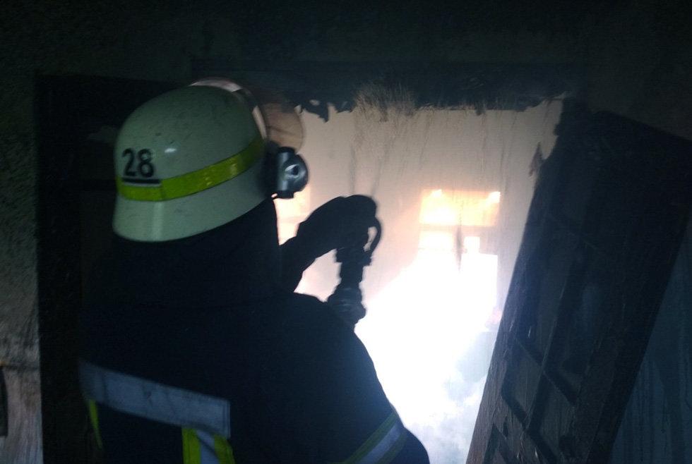 На Днепропетровщине час тушили пожар в жилом доме, - ФОТО, фото-2