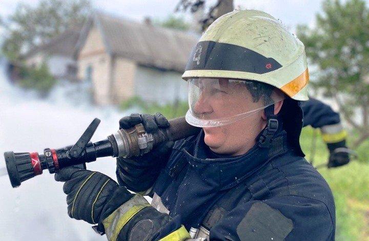 В Днепре на территории частного домовладения произошел пожар, - ФОТО, фото-4