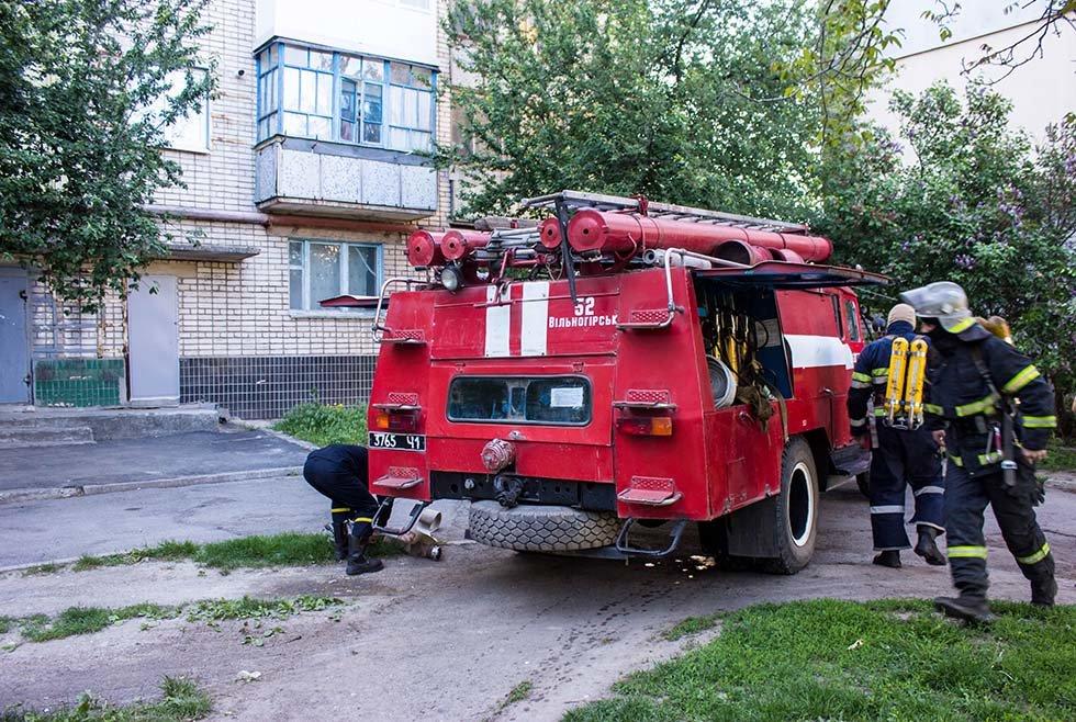 Под Днепром в квартире в жилом доме горел балкон, - ФОТО, фото-3