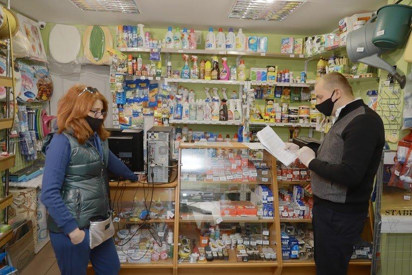 Как магазины в Днепре соблюдают противоэпидемические меры: частые нарушения, - ФОТО , фото-6
