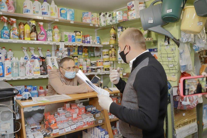 Как магазины в Днепре соблюдают противоэпидемические меры: частые нарушения, - ФОТО , фото-4