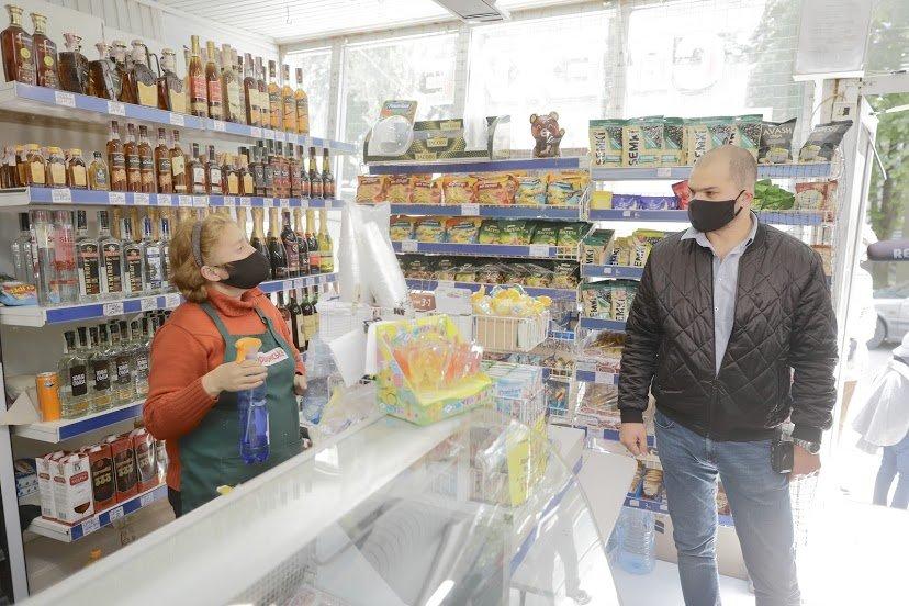 Как магазины в Днепре соблюдают противоэпидемические меры: частые нарушения, - ФОТО , фото-2