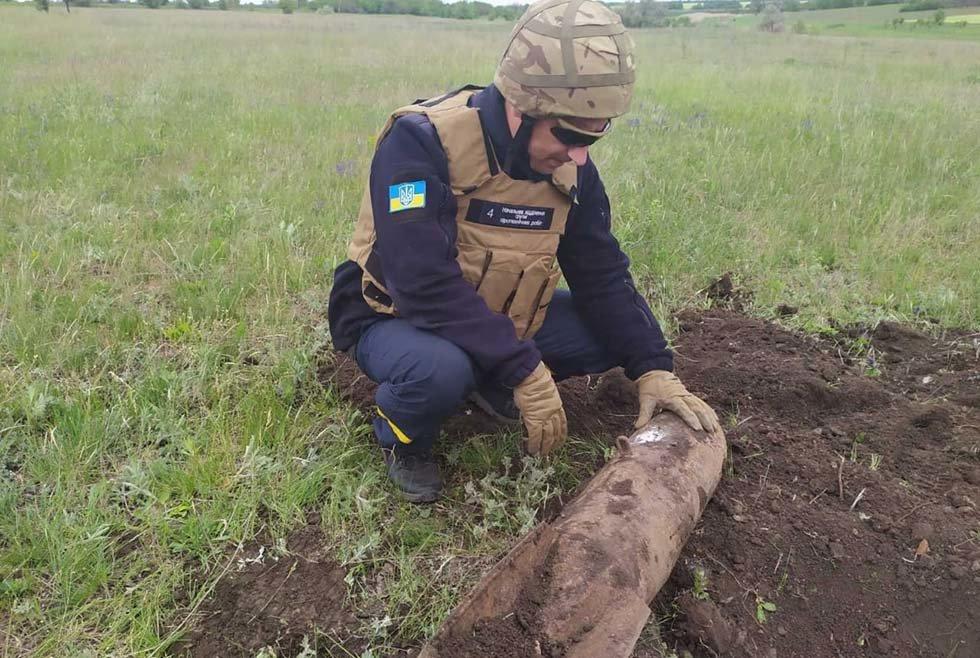 На Днепропетровщине обнаружили два устаревших снаряда, - ФОТО, фото-1