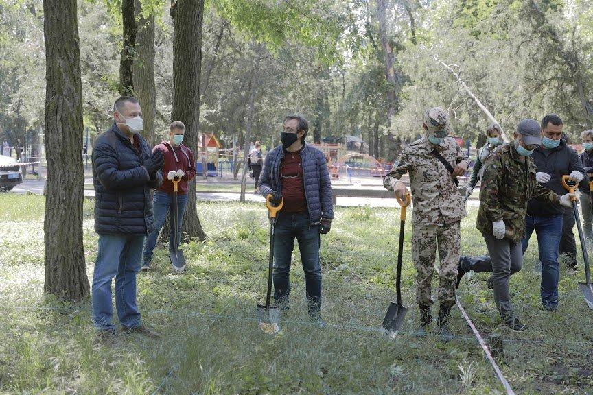 Борис Филатов о старте раскопок на месте предполагаемого расположения Лазаревской церкви, фото-7
