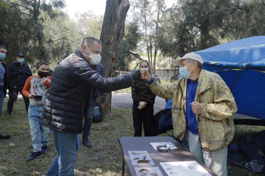 Борис Филатов о старте раскопок на месте предполагаемого расположения Лазаревской церкви, фото-8