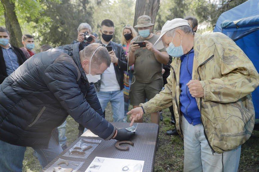 Борис Филатов о старте раскопок на месте предполагаемого расположения Лазаревской церкви, фото-9