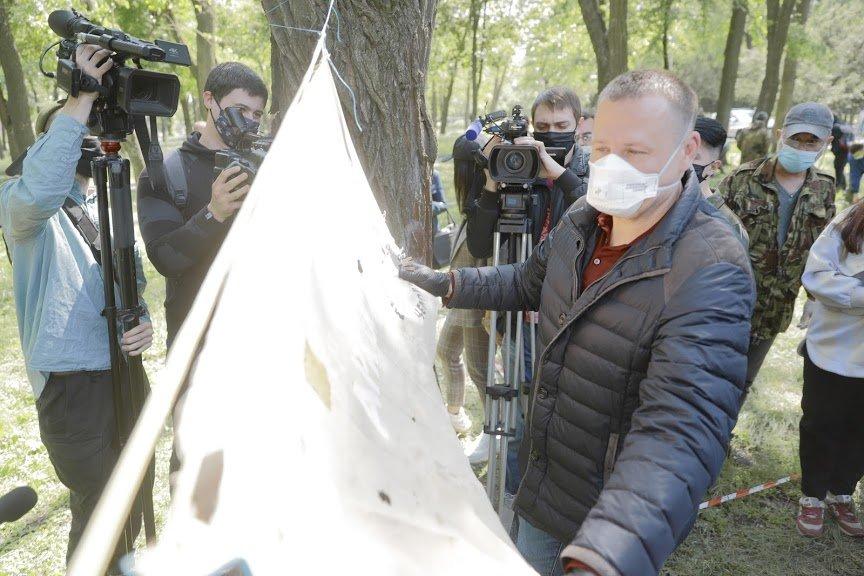 Борис Филатов о старте раскопок на месте предполагаемого расположения Лазаревской церкви, фото-10