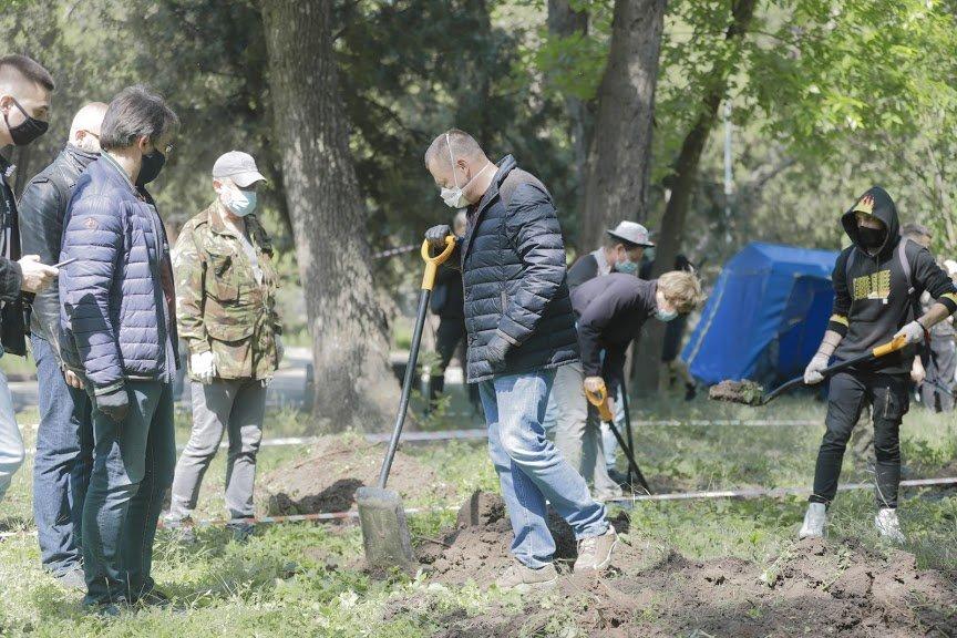Борис Филатов о старте раскопок на месте предполагаемого расположения Лазаревской церкви, фото-4