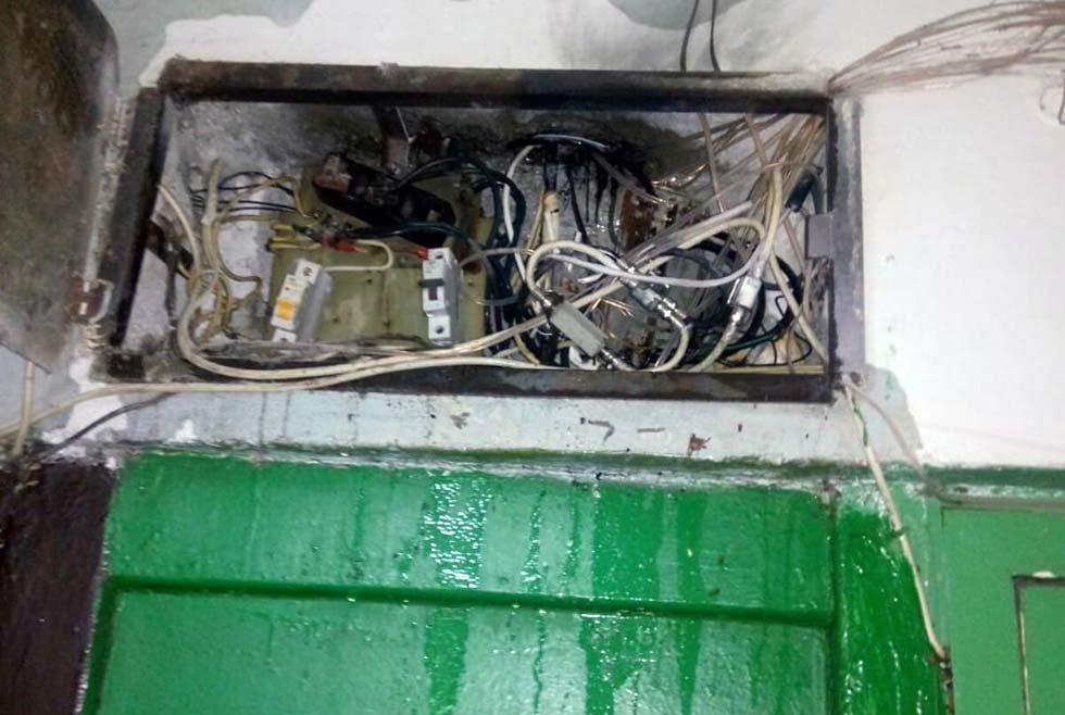На Днепропетровщине в подъезде загорелась электрощитовая и обесточила 4 этажа, - ФОТО, фото-2