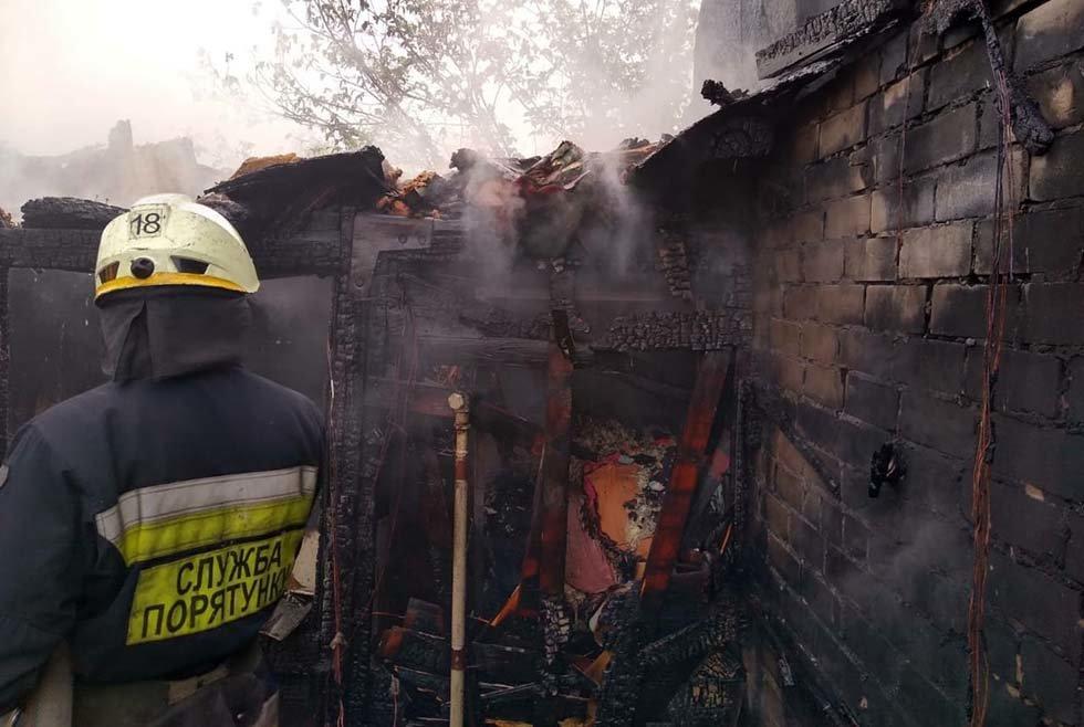 В Днепропетровской области произошел пожар в дачном кооперативе, - ФОТО, ВИДЕО, фото-3