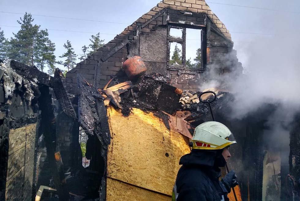 В Днепропетровской области произошел пожар в дачном кооперативе, - ФОТО, ВИДЕО, фото-2